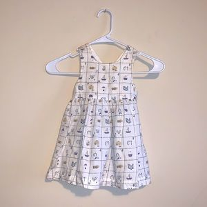 Baby Gap Nautical Cotton Dress